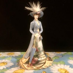 "Kincade ""Misty Morning Glory"" Porcelain Figurine"